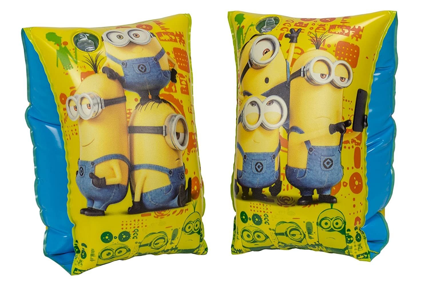 Saica Minions Set Manguitos hinchables 2815: Amazon.es: Juguetes y ...