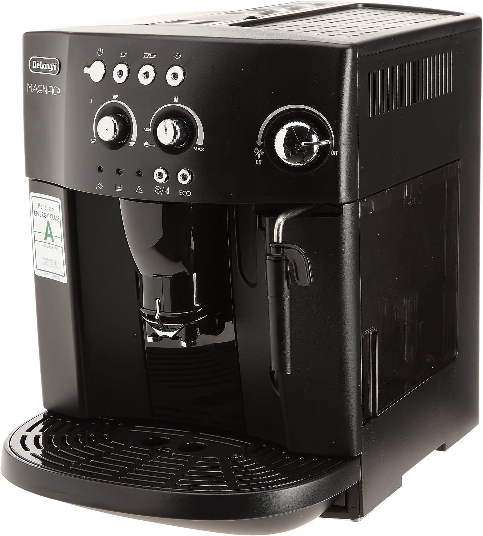 DeLonghi ECAM 22.140.B Independiente Máquina espresso Semi-automática - Cafetera (Independiente, Máquina espresso, Granos de café, De café molido, 1450 W, Negro): Amazon.es: Hogar