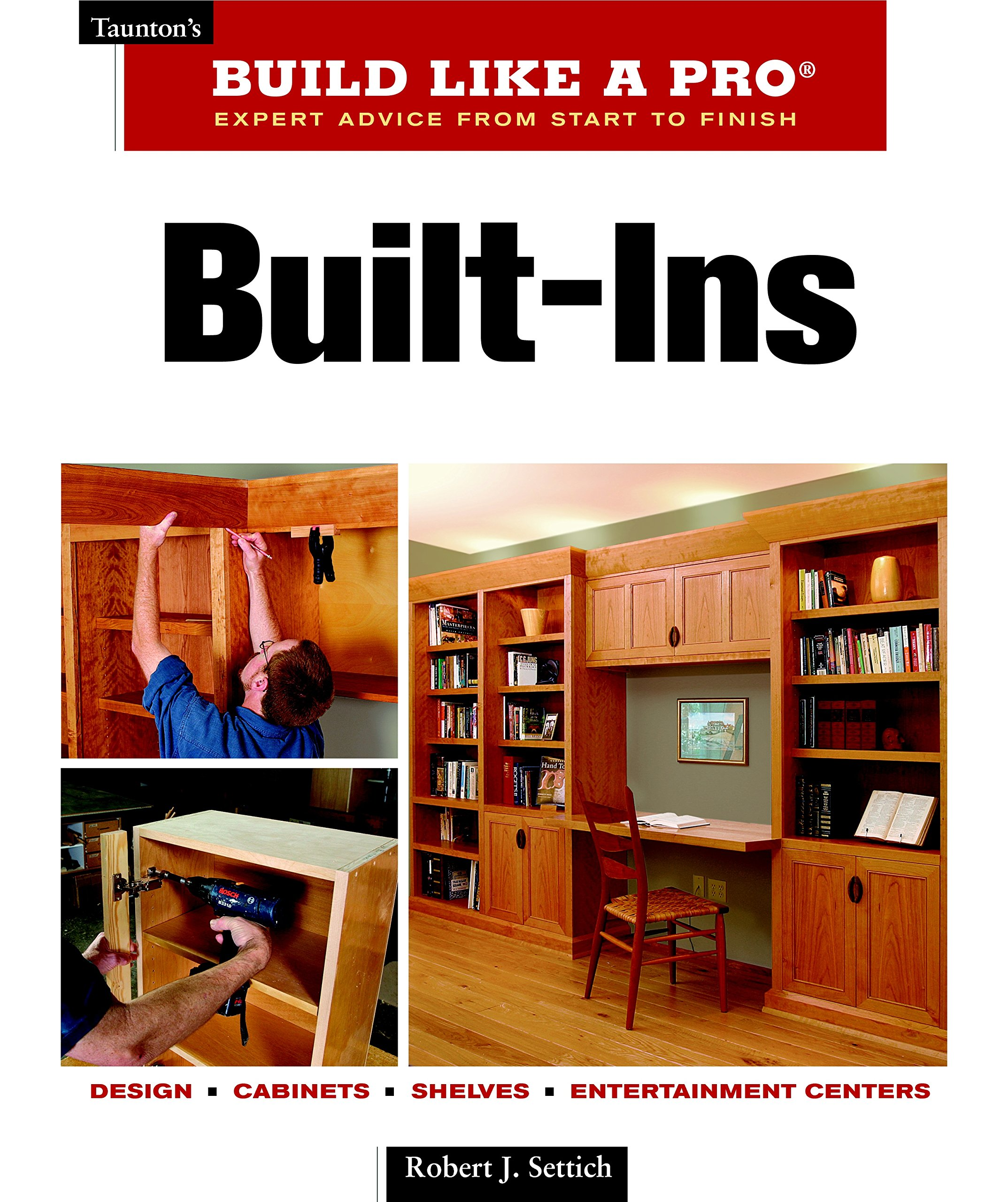 Download Built-Ins: Expert Advice from Start to Finish (Taunton's Build Like a Pro) PDF