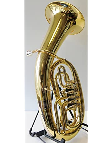 Mit Koffer Und Mundstück Marching Bariton Sporting Basstrompete Gold