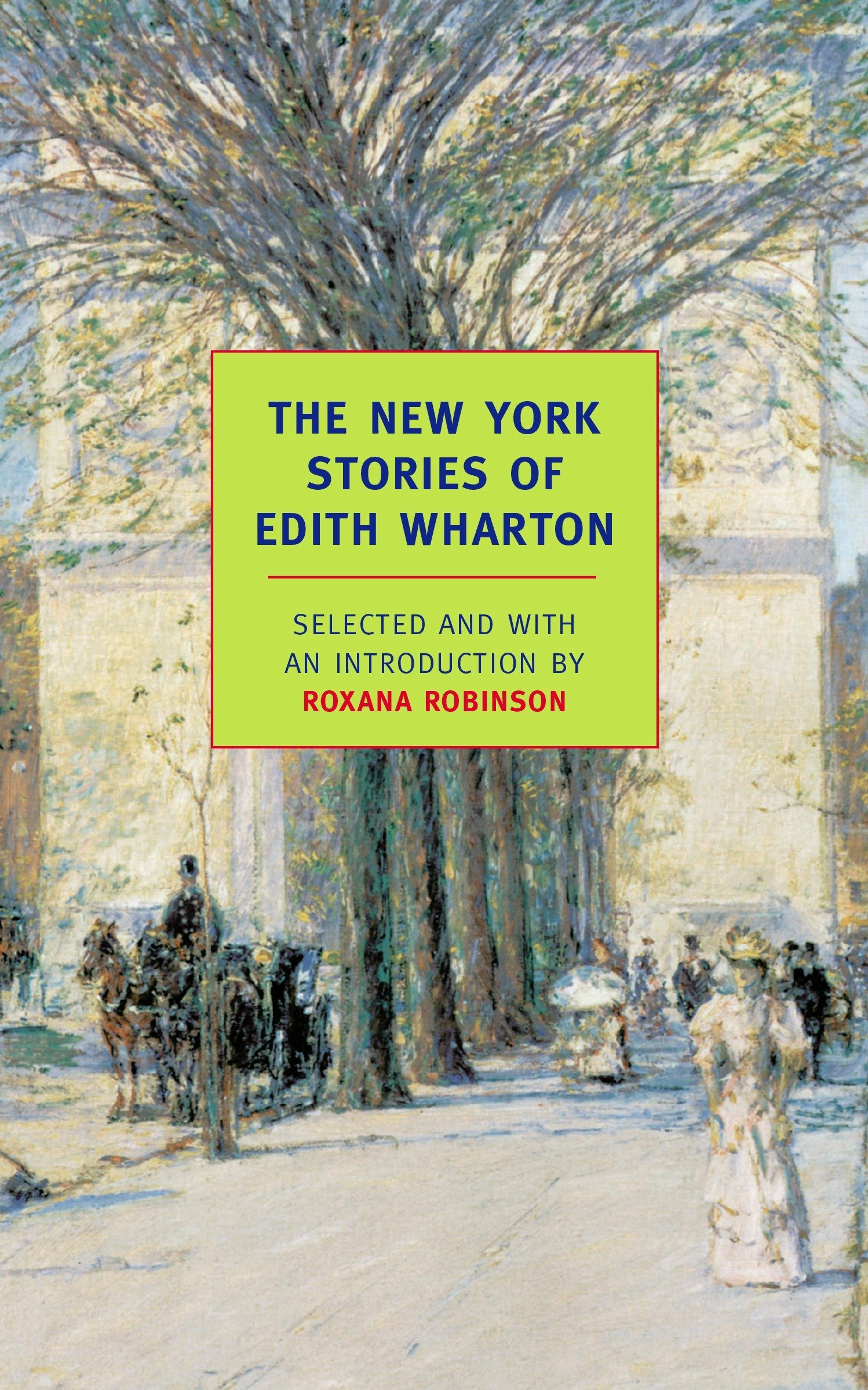 Read Online The New York Stories of Edith Wharton (New York Review Books Classics) pdf