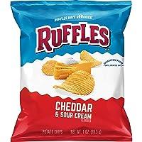 Deals on 40-Count Ruffles Potato Chips Cheddar Sour Cream 1oz