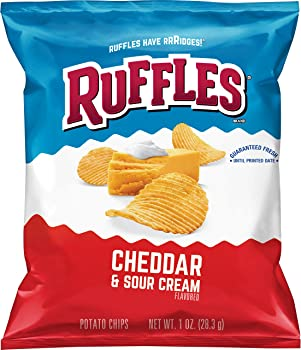 40-Count Ruffles 1oz. Potato Chips (Cheddar Sour Cream)