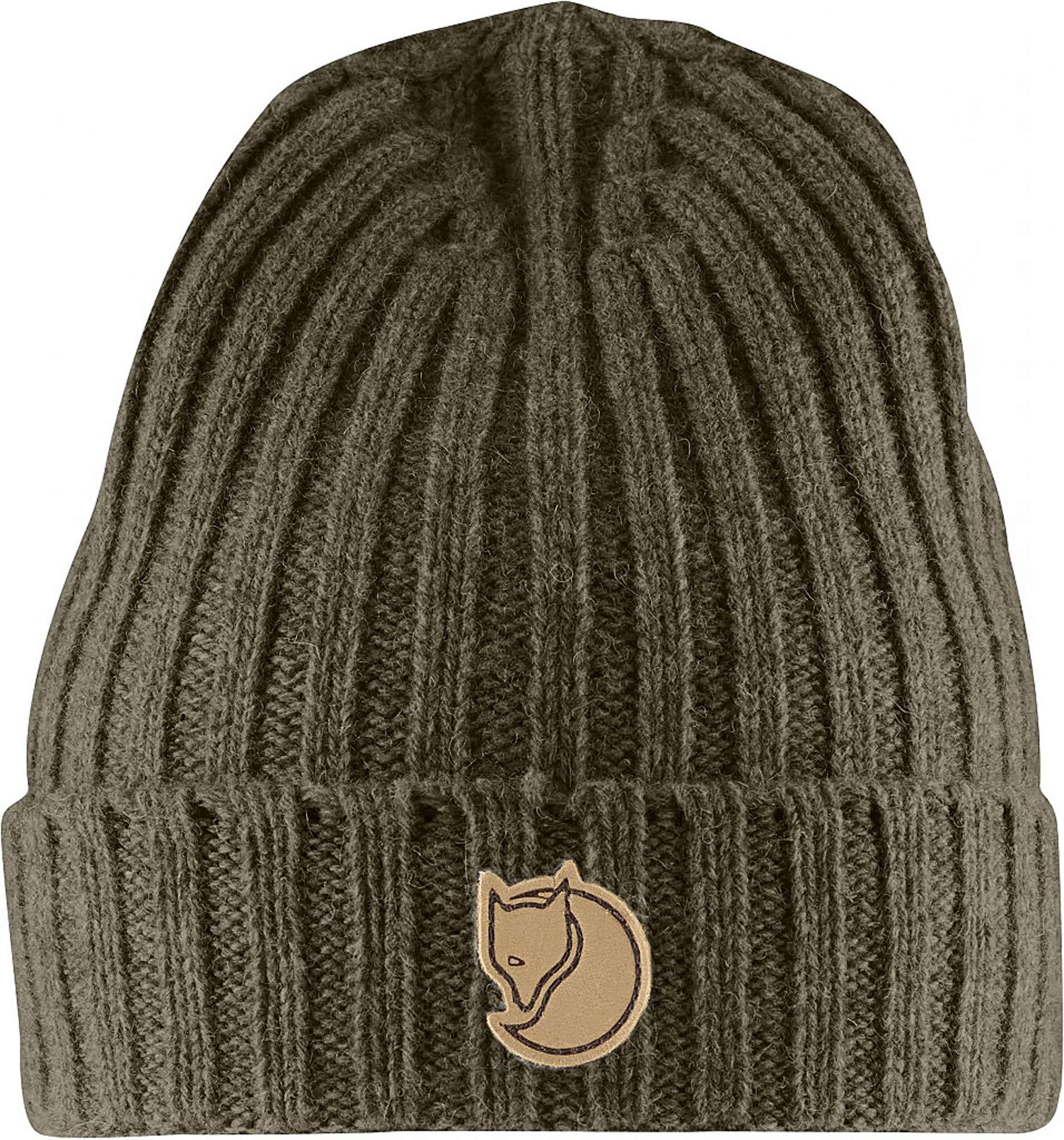 Fjallraven - Re-Wool Hat, Dark Olive