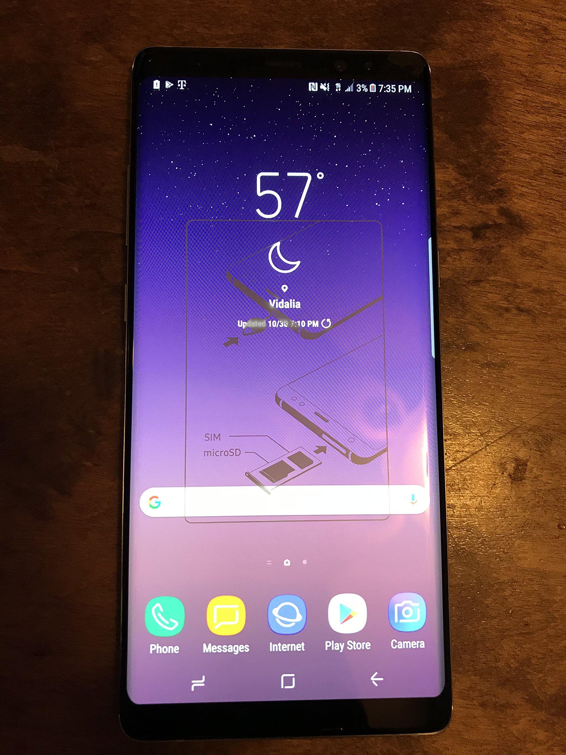 Samsung Galaxy Note 8 SM-N950U 64GB Midnight Black - T-Mobile