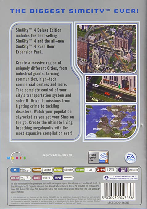 simcity 4 rush hour serial number