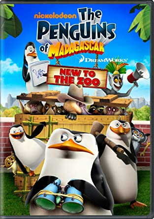 Amazoncom The Penguins Of Madagascar New To The Zoo Penguins
