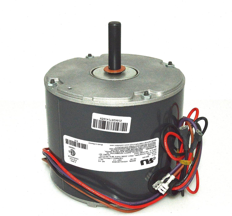 10729 Mars Condenser Wiring Diagram Schematics Diagrams Trane Fan Capacitor 3 Wire Motor 1 6 Hp 200 230v Mot10433 Amazon Com Outdoor