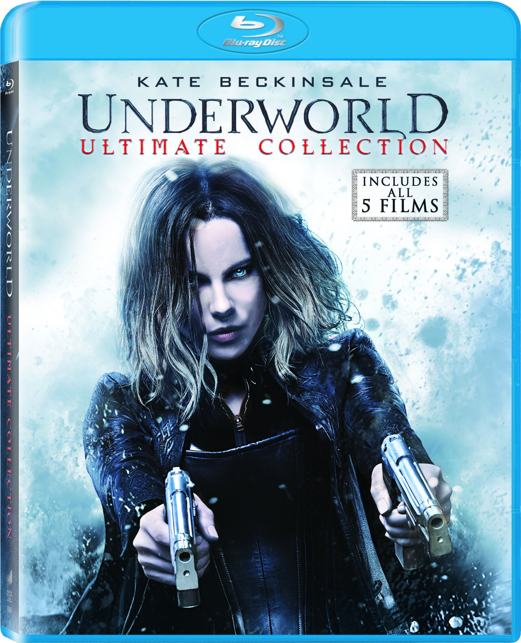 Blu-ray : Underworld/ Underworld: Awakening/ Underworld: Evolution/ Underworld: Bloodwars/ Underworld: Riselycans (Boxed Set, Ultraviolet Digital Copy, , 5 Disc)