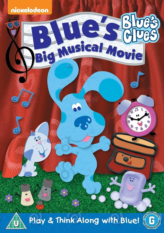 blues clues blue u0027s big musical movie dvd amazon co uk steve