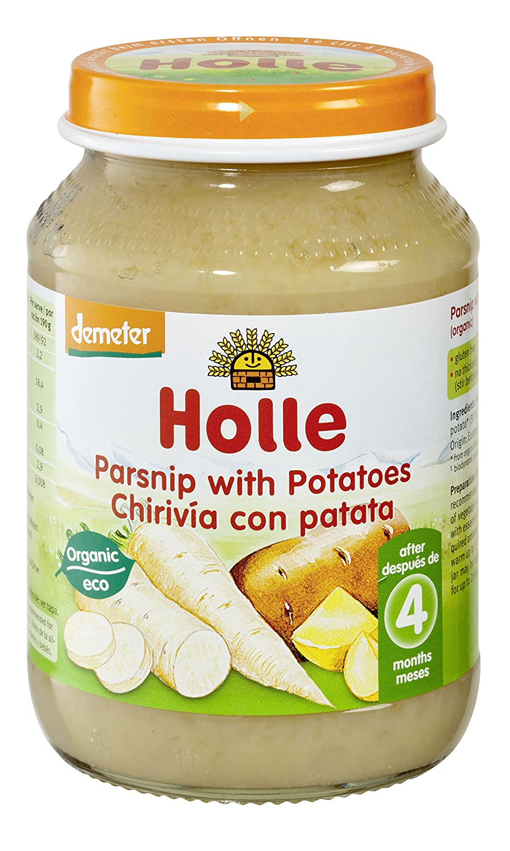 Holle Potito de Chirivía con Patata (+4 meses) - Paquete de 6 x 190 gr - Total: 1140 gr: Amazon.es: Alimentación y bebidas