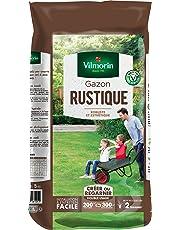 Vilmorin 4460416 Gazon Rustique, Vert, 5 kg