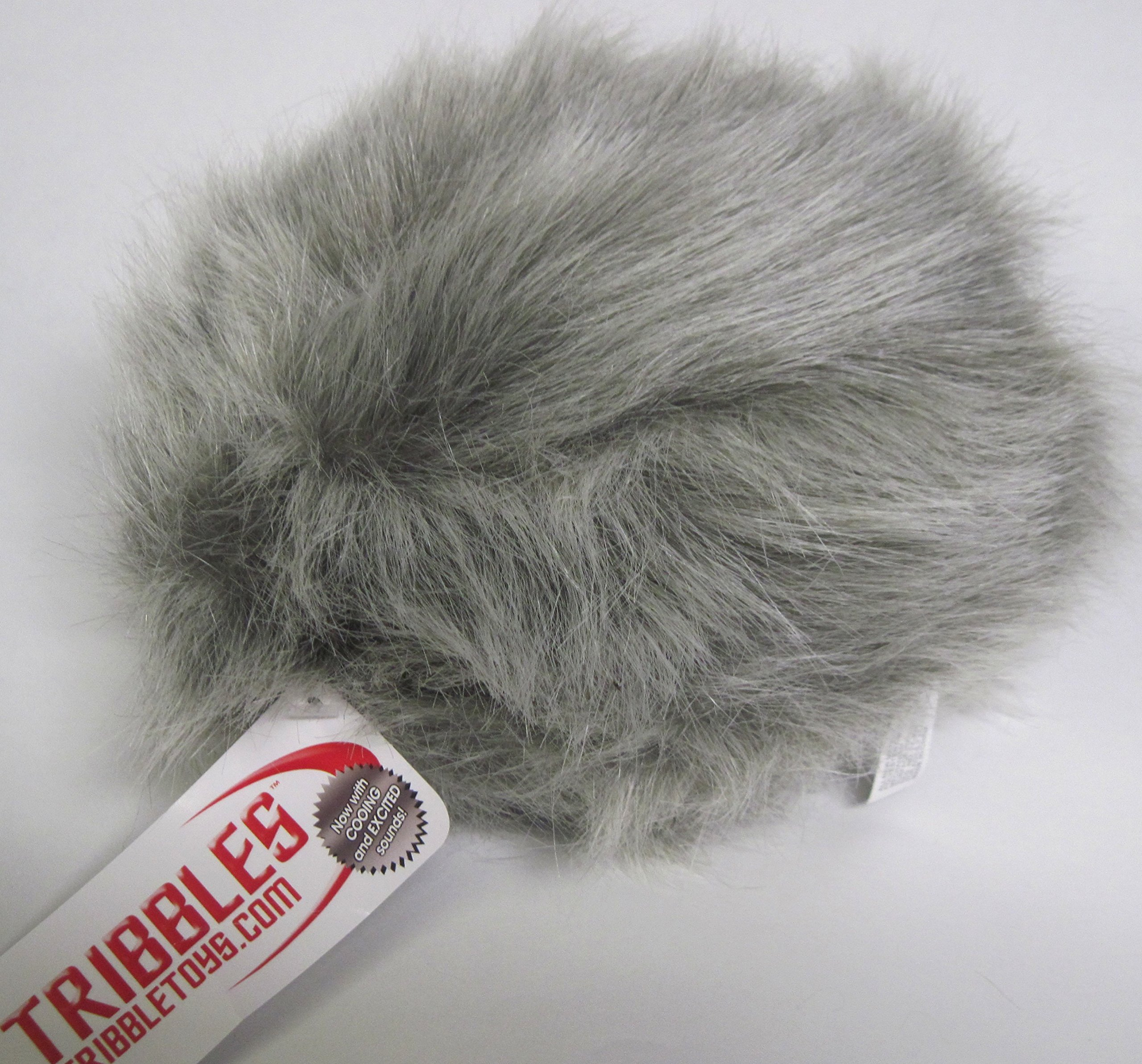 Star Trek Gray Tribble - New Dual Sound Version - Large Size