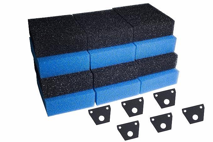 Sin Marca Fishmate esponja para filtro de pecera para Pez Mate 10000 15000 G-UV / 15000G-BIO Acuario filtro(3 series): Amazon.es: Hogar