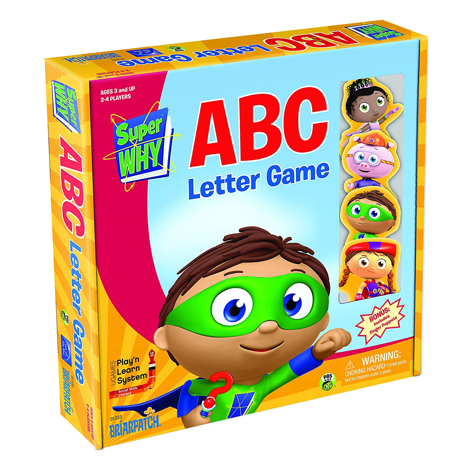 Amazon Super WHY ABC Letter Game Toys & Games