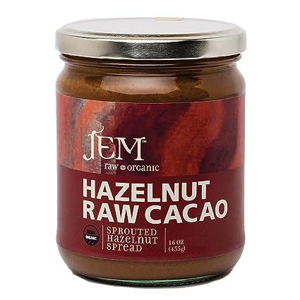 Jem Raw, Vegan, Organic Chocolate HazelnutButter Spread ...