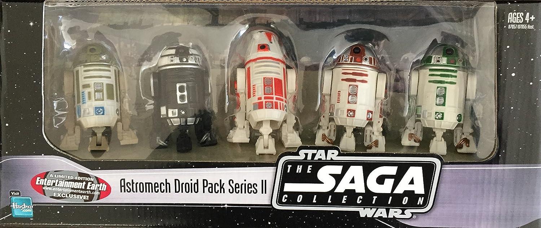 B000B8X03A EE Exclusive Star Wars Astromech Droids Pack of 5 - Saga Collection Series 2 91-j6pzN4UL.SL1500_