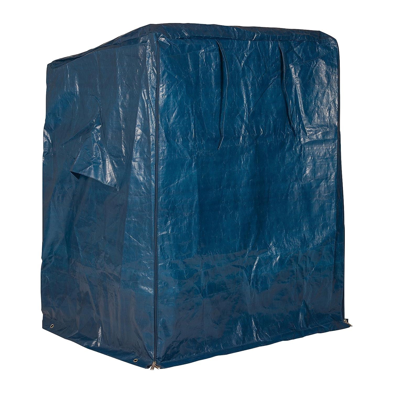 Abdeckhaube für Strandkorb PREMIUM, blau, LILIMO ®