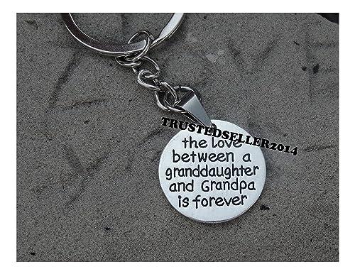 Amazon.com  Grandpa Grandaughter Necklace Little Girl Kids Love ... 2e1c44664d