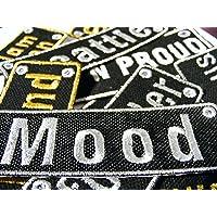 Emporium Embroidery Parches Rectangular Personalizados Customizados Plancha Bordado