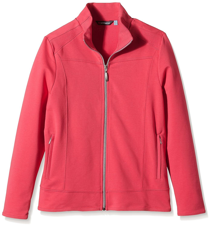 Schneider Sportswear Estelle–Chaqueta para Mujer, Mujer, Jacke Estelle, Cranberry, 36
