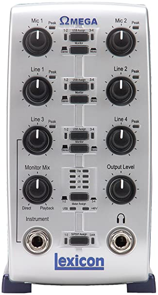 Lexicon Omega Desktop Recording Studio: Amazon in: Electronics