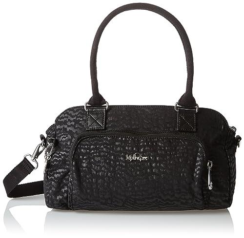 Kipling - Alecto, Bolsos baguette Mujer, Schwarz (Black Garden), One Size: Amazon.es: Zapatos y complementos