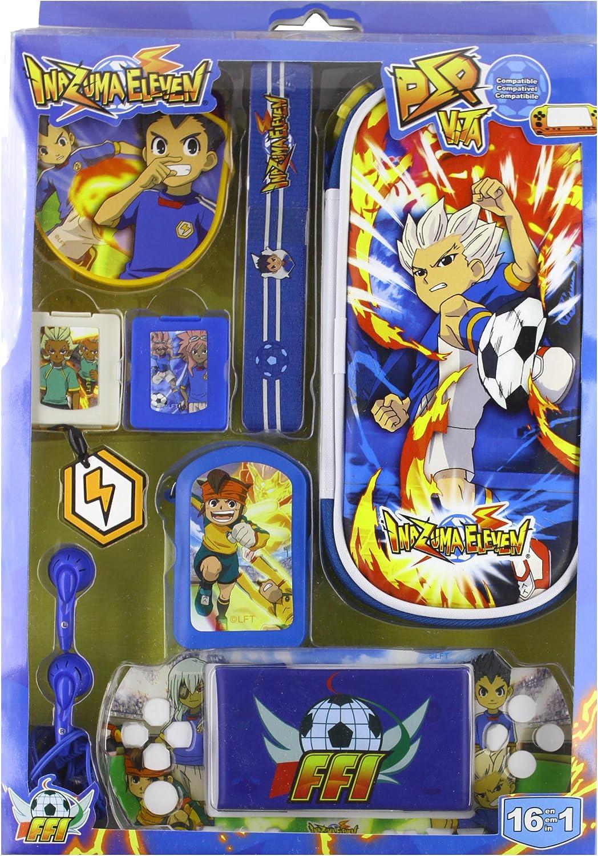 Indeca - Pack de accesorios para PS Vita, diseño de Inazuma Eleven ...