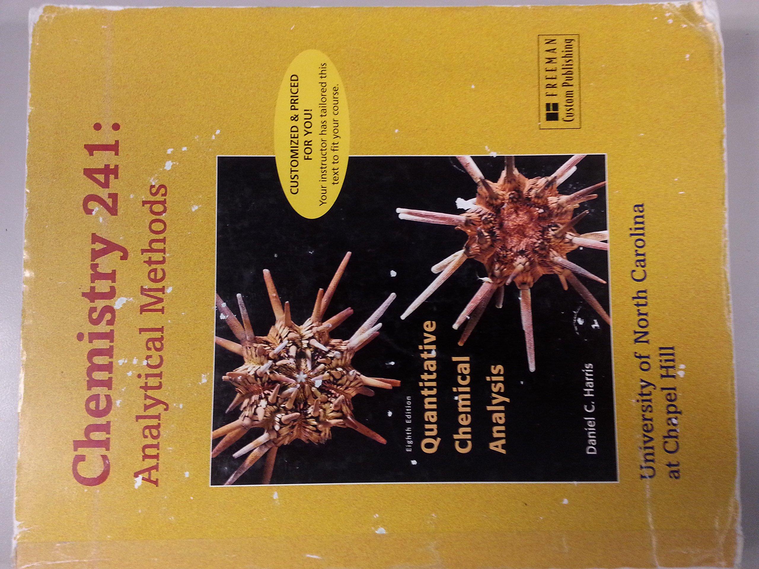 quantitative chemical analysis 8th edition daniel c harris free download