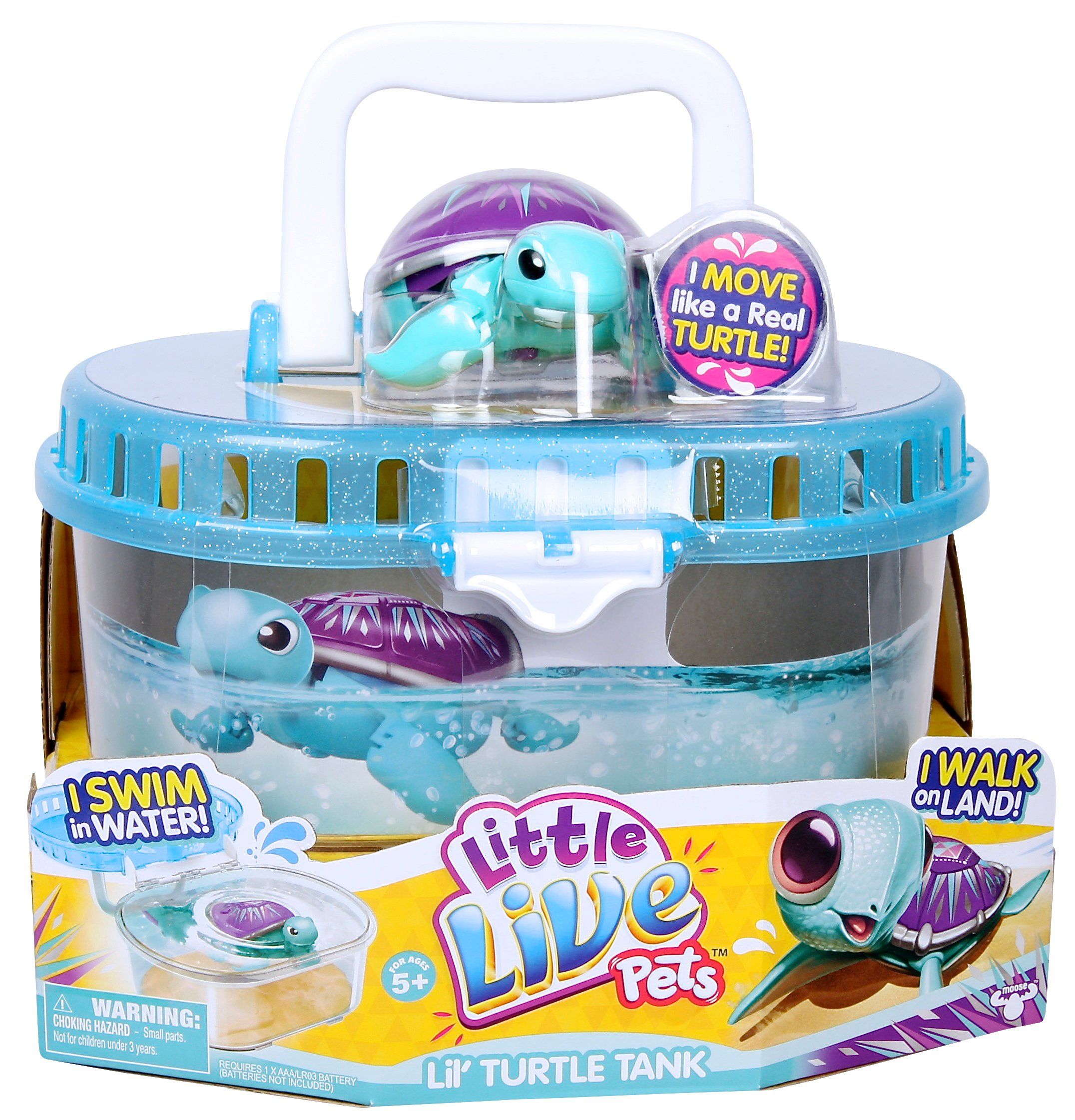 Little Live Pets S3 Lil' Turtle Tank