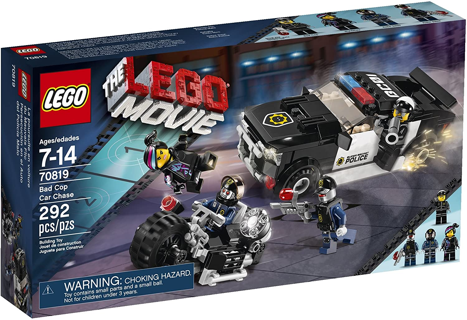 Lego Movie 70819 Bad Cop Car Chase