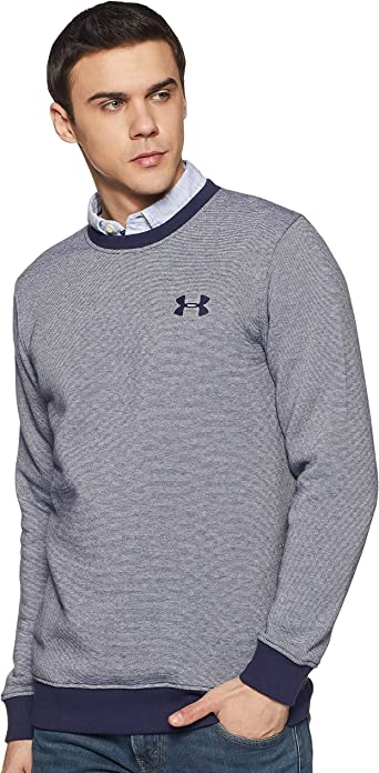 Under Armour Rival Fitted Eoe Crew Sudadera, Hombre