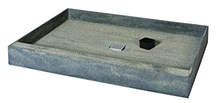 36 X 48 Shower Base.Wedi Ecobath 36 X 48 One Step Shower Base Kit With Center Drain And Stainless Cover