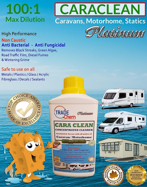 Caraclean - Aspirateur avec biocide 1: 100 - Pour caravane et camping-car Trade Chemicals