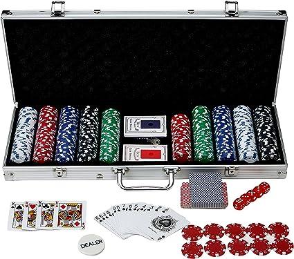 Amazon Com Hathaway Monte Carlo Poker Set 500 Piece Sports Outdoors