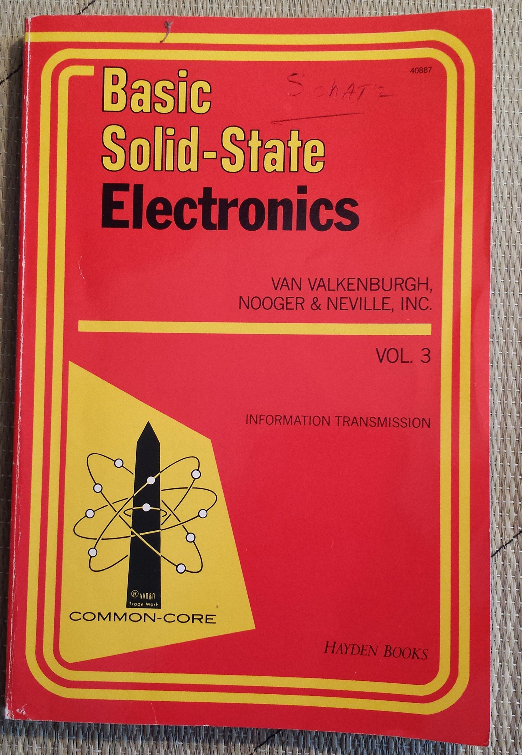 Basic Solid-State Electronics, Vol. 3: Information Transmission