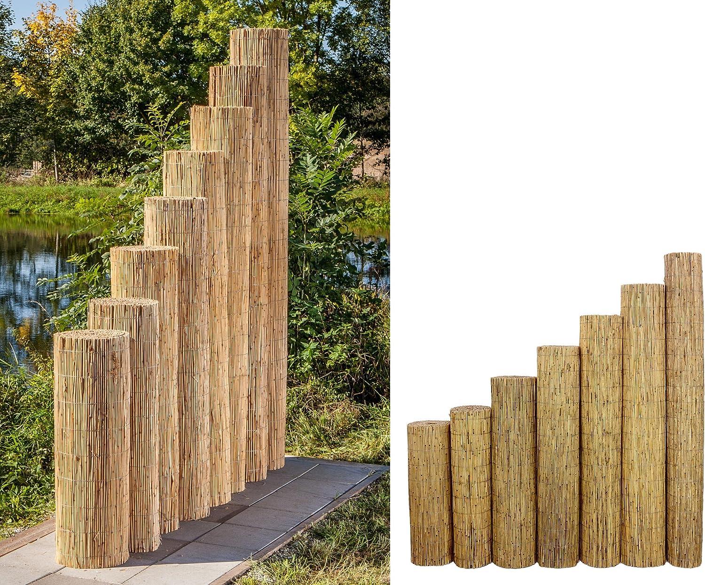 Amazon De Bambus Discount Com Schilfrohrmatten Premium Beach 180