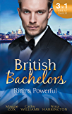 Mills & Boon : British Bachelors: Rich And Powerful/What His Money Can't Hide/His Temporary Mistress/Trouble On Her Doorstep