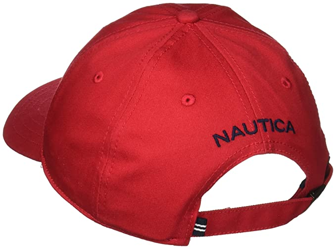 Nautica Men s Standard Classic Logo Adjustable Baseball Cap Hat ... bf5e1e752b5