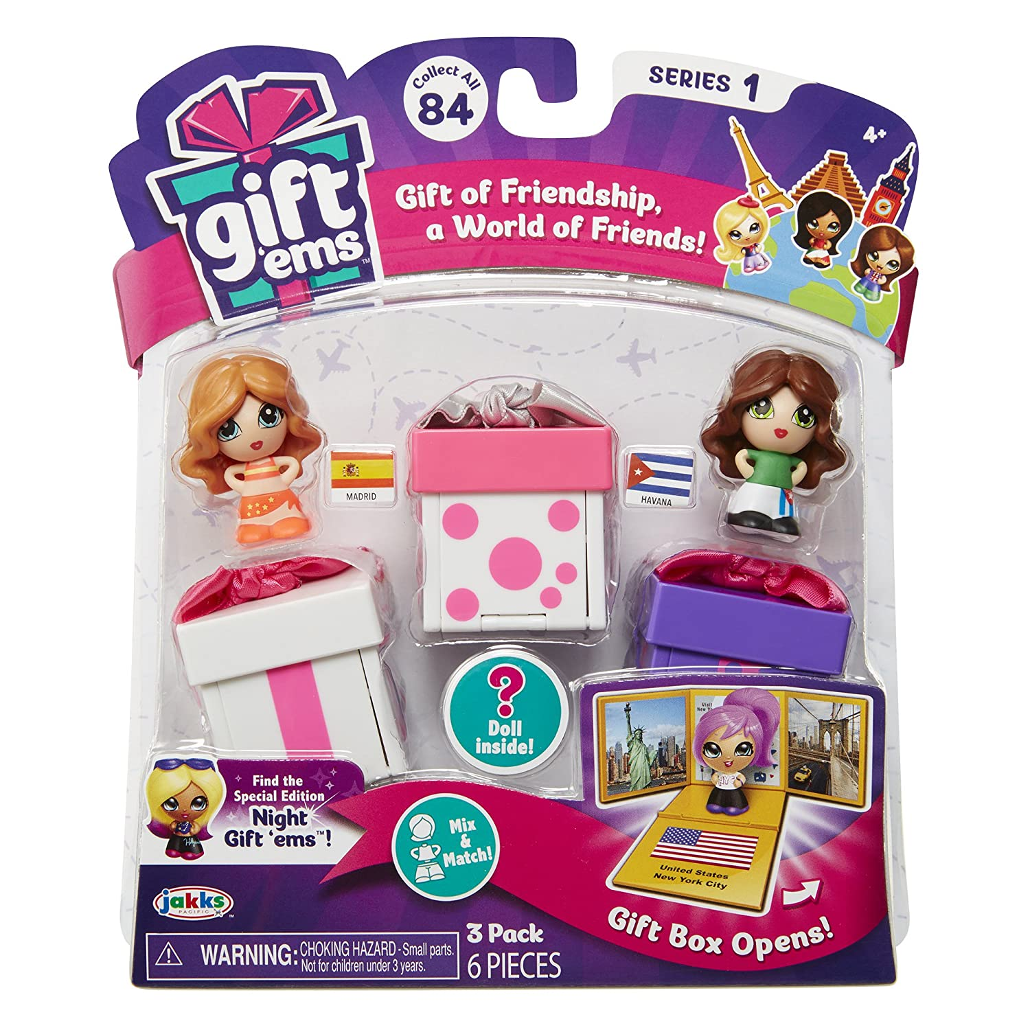 Amazon Com Gift Ems Transforming Gift Boxes 3 Pack Assorted