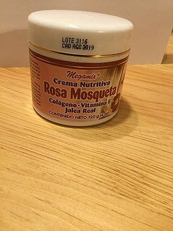 NUTRITIOUS CREAM CREMA NUTRITIVA ROSEHIP ROSA MOSQUETA COLAGENO VITAMINA E JALEA REAL