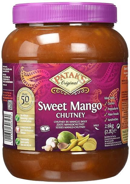 Pataks Chutney Mango Dulce - 2900 gr