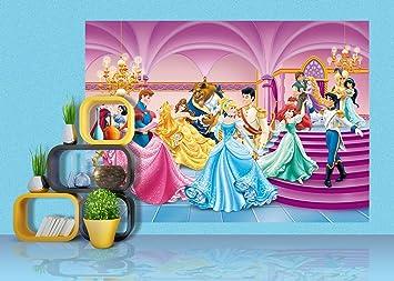 AG Design FTDs1928 Disney Princess Prinzessinen, Papier Fototapete ...