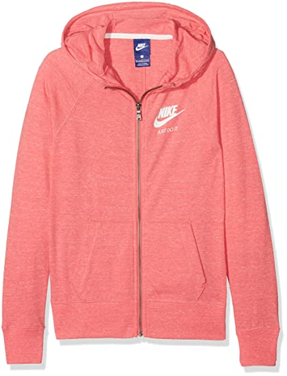 Nike Girls  Sportswear Vintage Hoodie Sweat, Filles  Amazon.fr ... 5f1afa465cb7