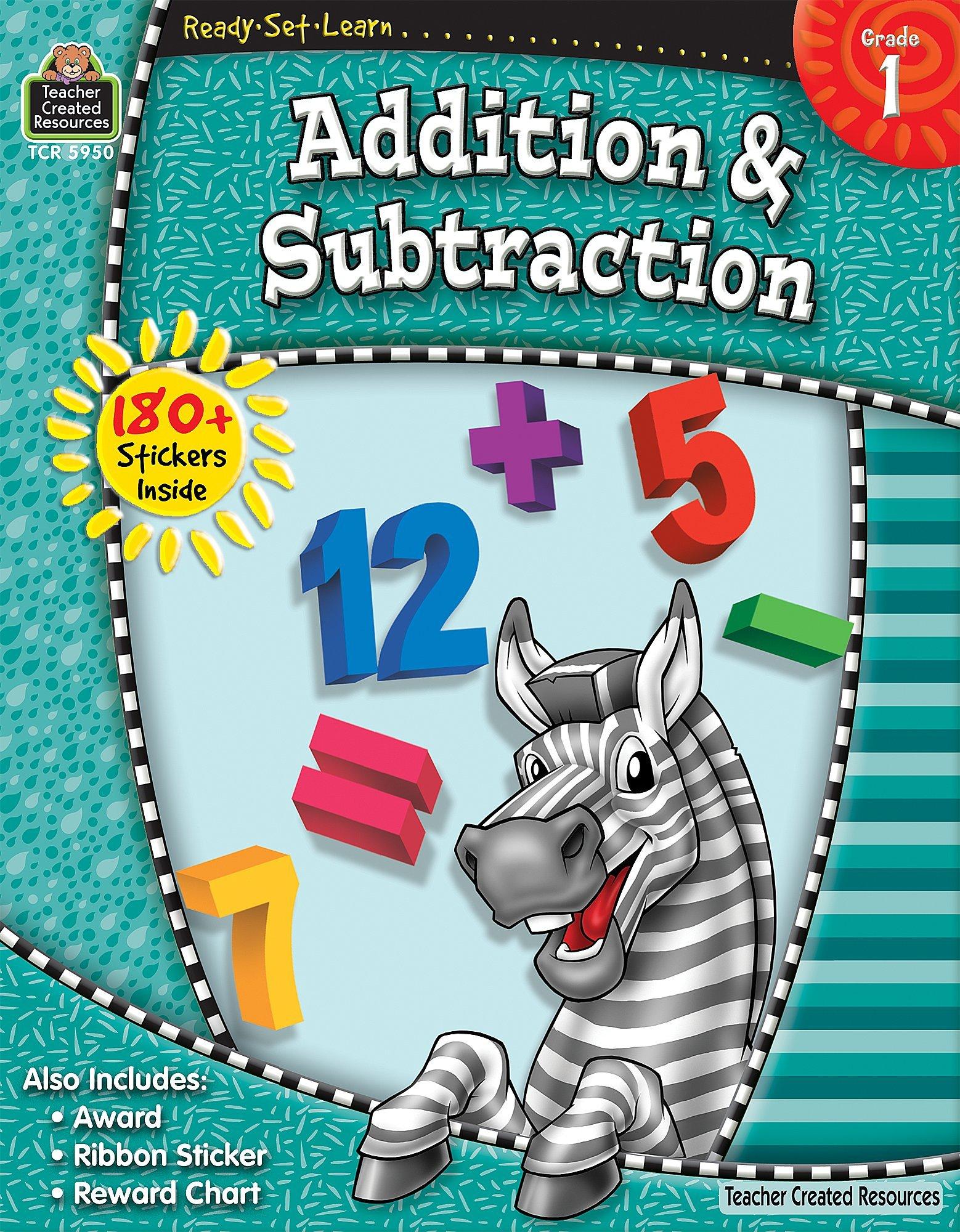 Ready-Set-Learn: Addition & Subtraction Grd 1: Teacher Created ...