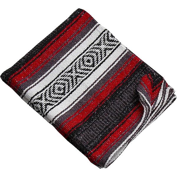 Amazon.com: El Paso Designs Genuine Mexican Falsa Blanket ...