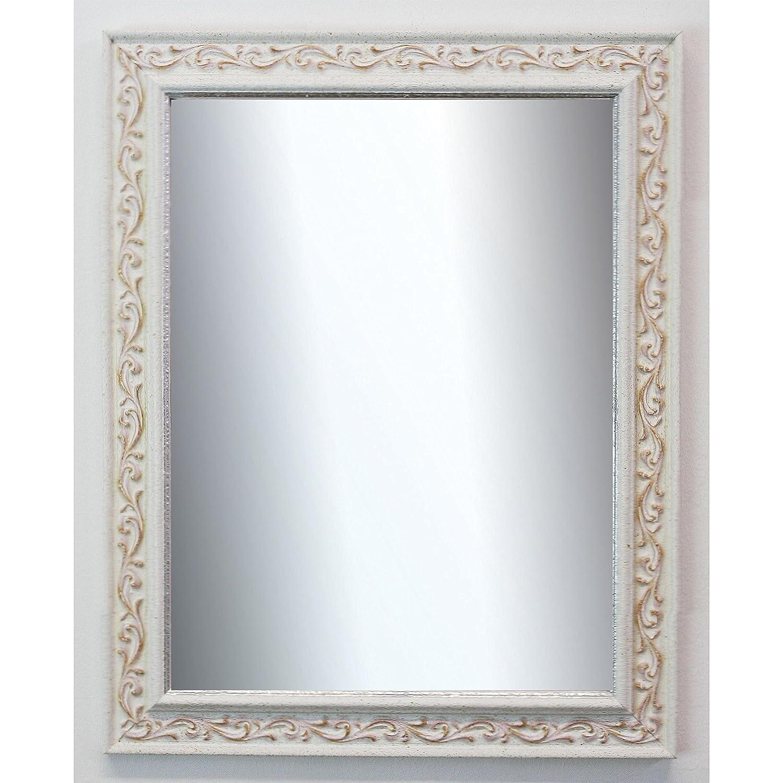 Online Galerie Bingold Spiegel Wandspiegel Wandspiegel Wandspiegel Badspiegel Flurspiegel Garderobenspiegel - Über 200 Größen - Verona Weiß 4,4 - Größe des Spiegelglases 20 x 140 - Wunschmaße auf Anfrage - Modern 4ba84b
