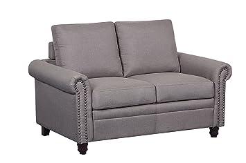 Phenomenal Amazon Com Container Furniture Direct S5275 L Dove Linen Pabps2019 Chair Design Images Pabps2019Com