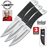 Amazon.com: United Cutlery GH0453 Gil Hibben Silver Double ...