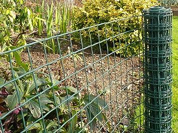 Green Plastic Garden Fence Mesh Garden Ftempo